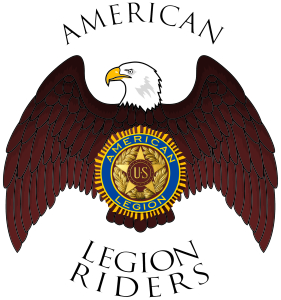 Legion Riders BW vector logo
